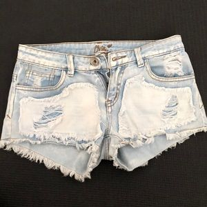 Forever 21 jean shorts size small